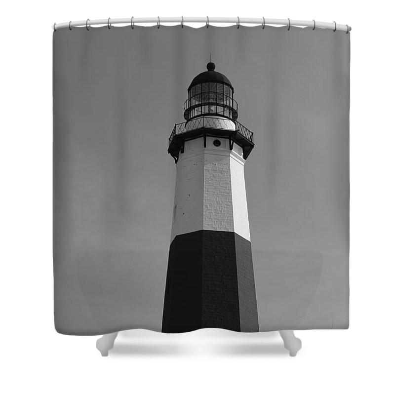 Montauk Shower Curtain featuring the photograph Guiding Light by Catie Canetti