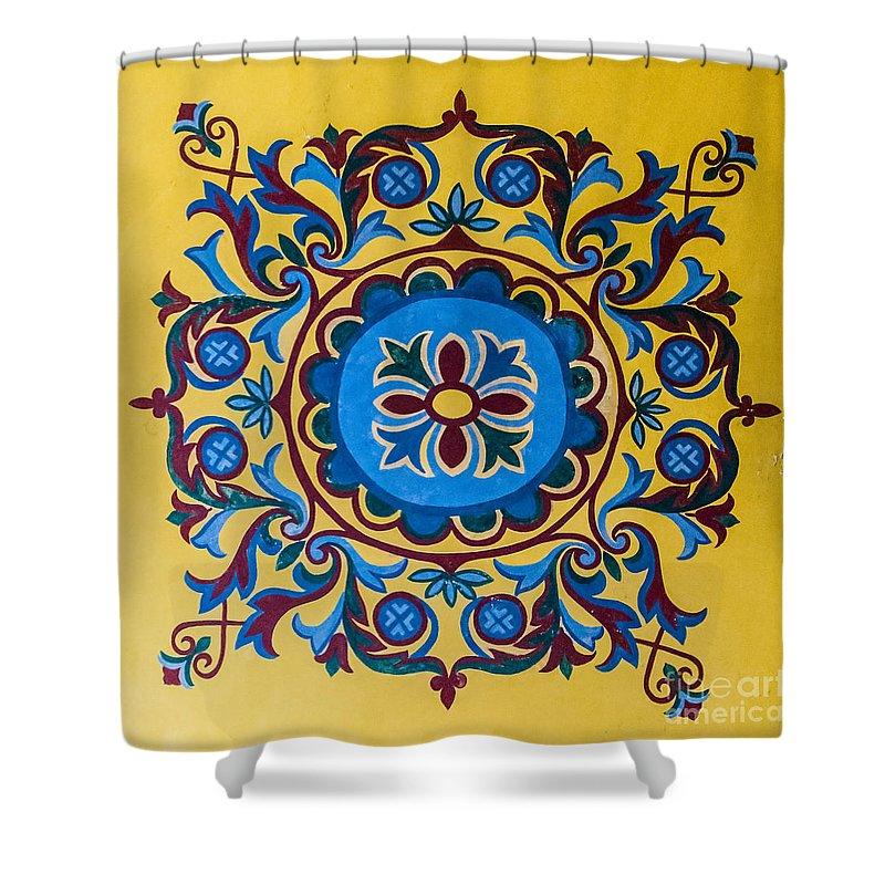 Hagia Shower Curtain featuring the photograph Hagia Sofia Interior 13 by Antony McAulay