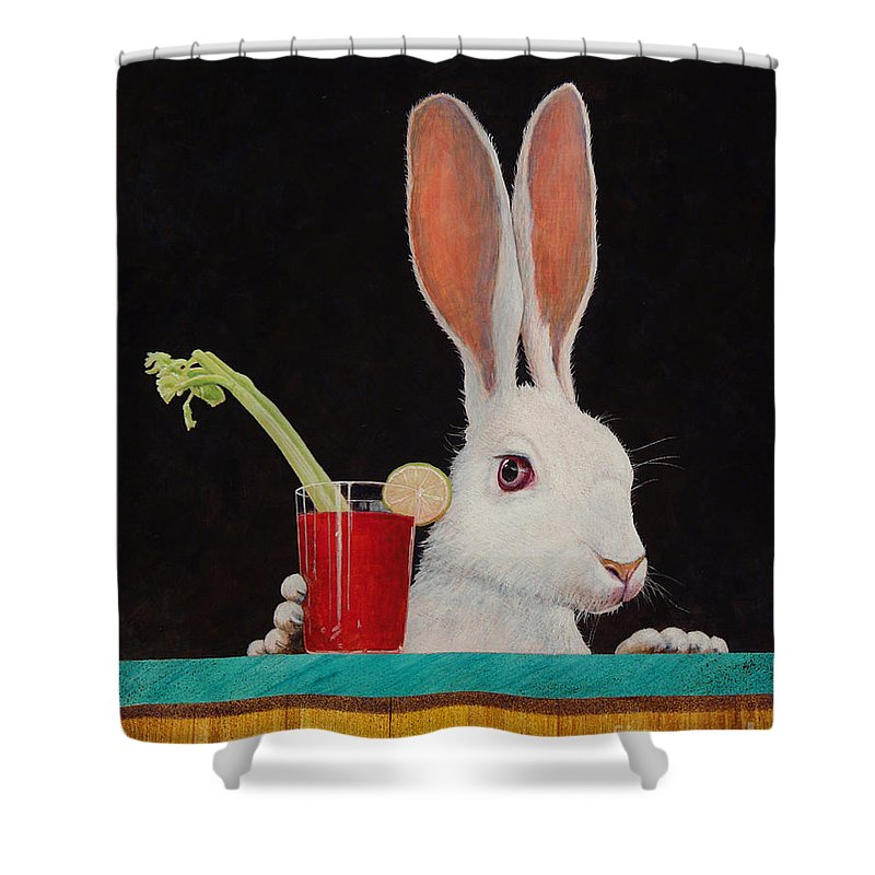 Bloody Mary Shower Curtains
