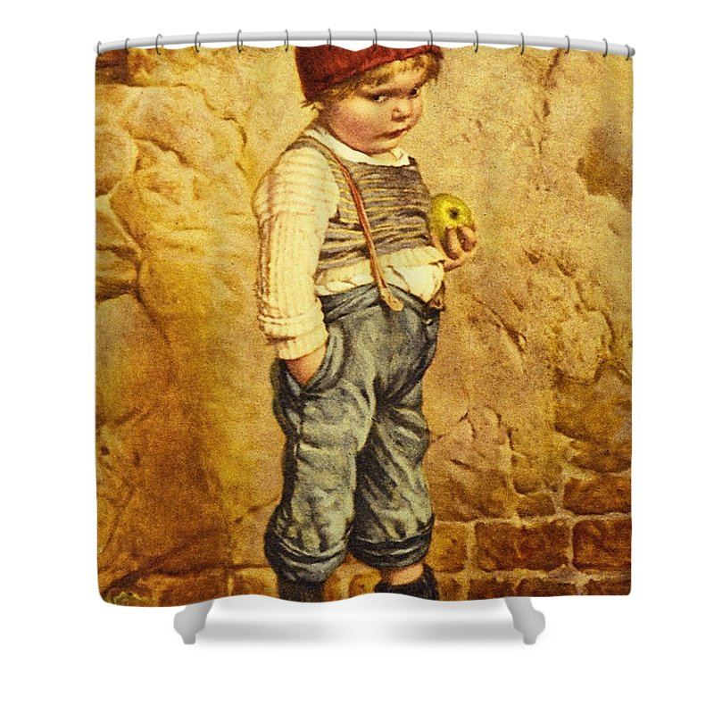 Hansel Brothers Grimm Shower Curtain featuring the digital art Hansel Brothers Grimm by Wilhelm Kaulbach