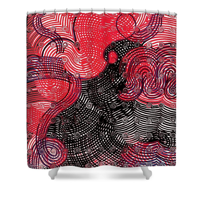 Shower Curtain featuring the photograph Happy Again by George Eley