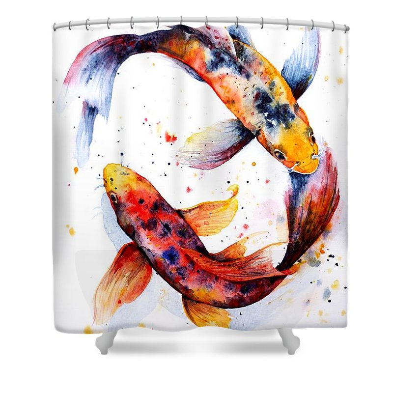 Koi Shower Curtains