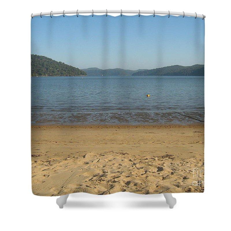 Island Shower Curtain featuring the photograph Hawksbury River From Dangar Island by Leanne Seymour