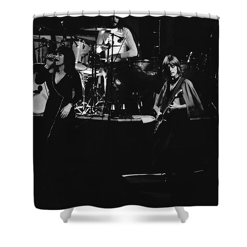 Classic Rock Shower Curtain featuring the photograph Heart #2 by Ben Upham