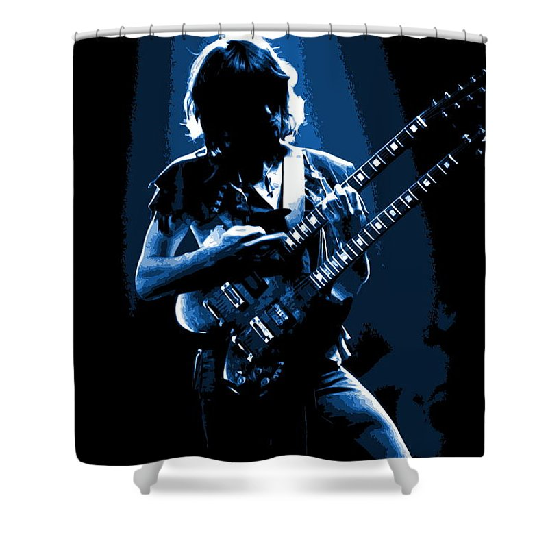 Roger Fisher Shower Curtain featuring the photograph Heart #23ab by Ben Upham