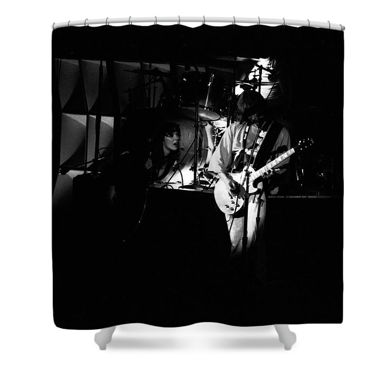 Classic Rock Shower Curtain featuring the photograph Heart #8 by Ben Upham