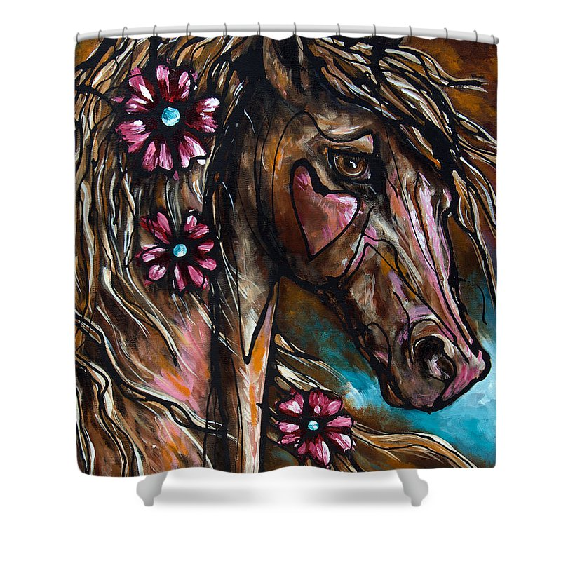 Paso Fino Shower Curtains
