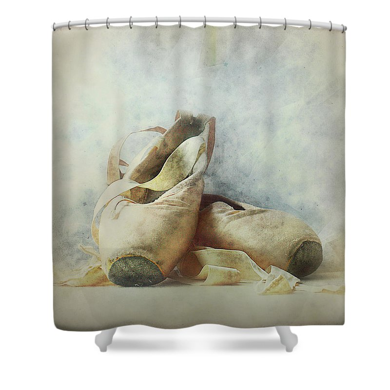 Netherlands Shower Curtain featuring the photograph Her Life, Her World....her Shoes by Bob Van Den Berg Photography
