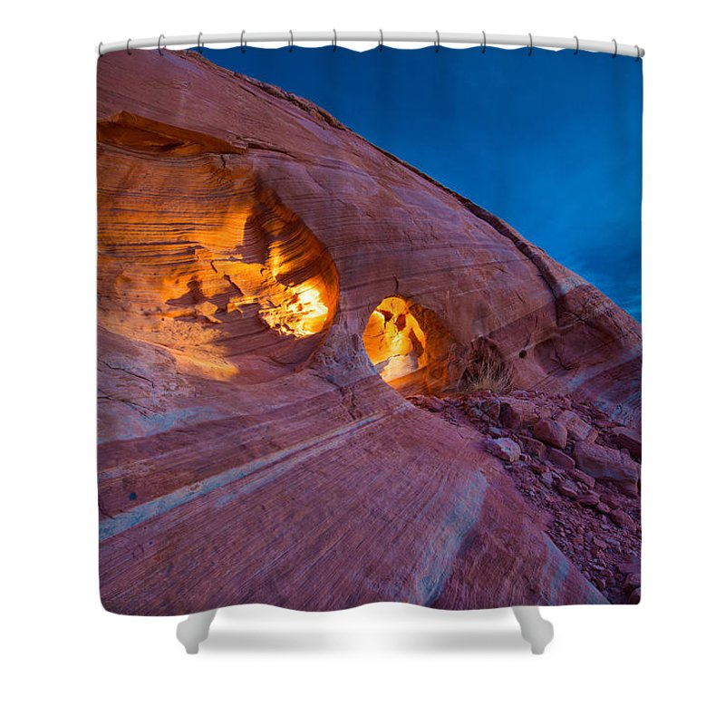 Stone Wall Photographs Shower Curtains