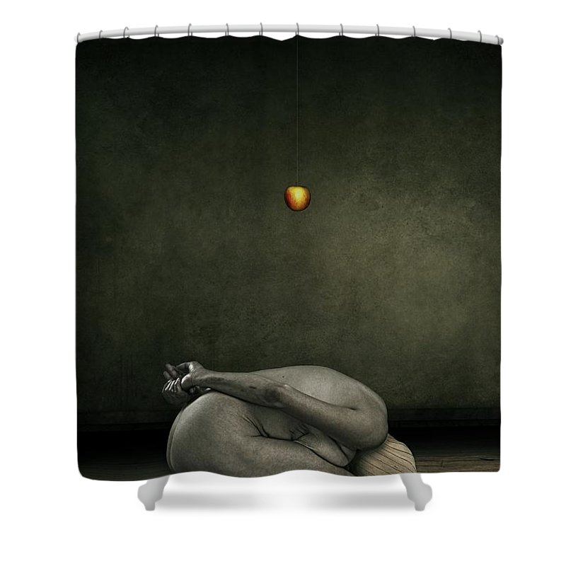 Surreal Shower Curtain featuring the photograph Hide My Self by Johan Lilja