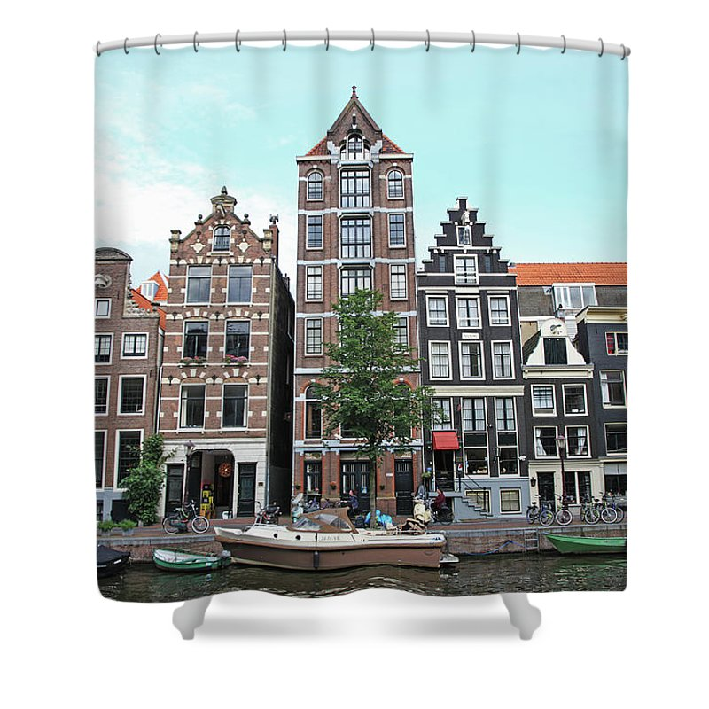 Netherlands Shower Curtain featuring the photograph Holland, Amsterdam by Hiroshi Higuchi