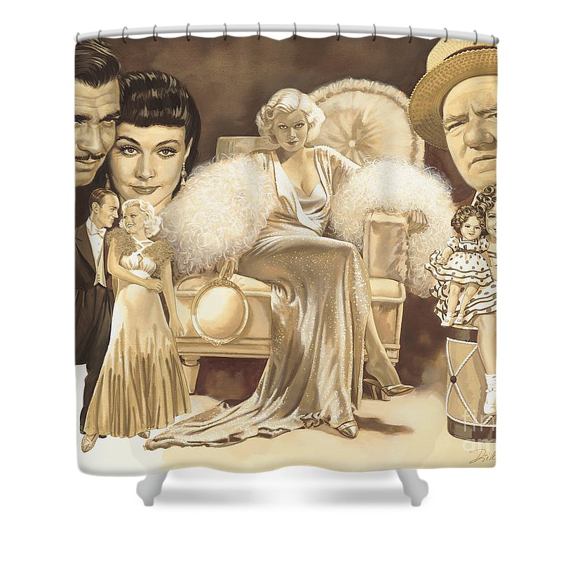 Shirley Temple Shower Curtains