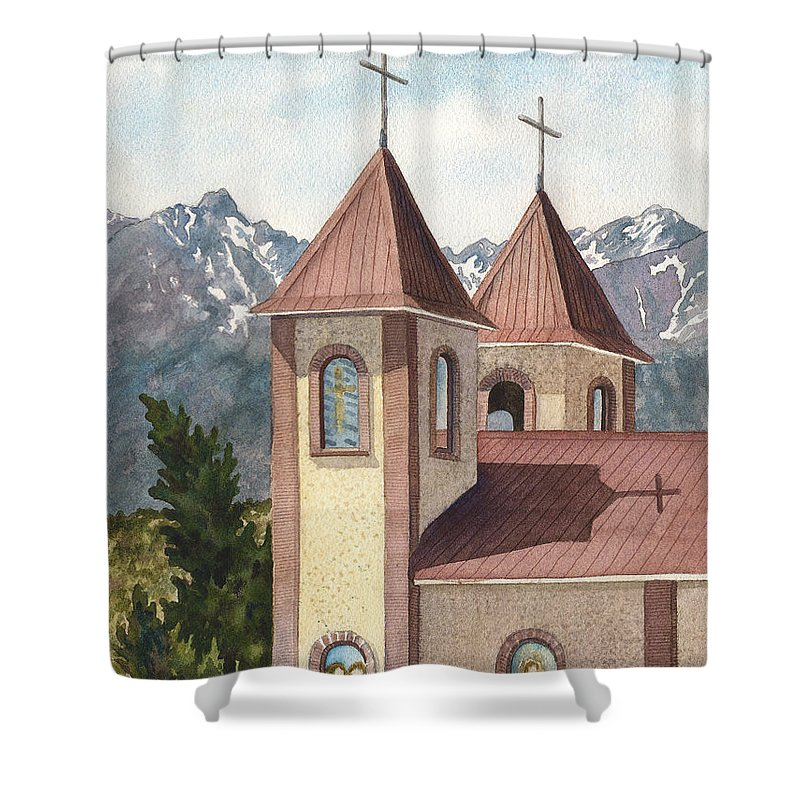 Steeple Shower Curtains