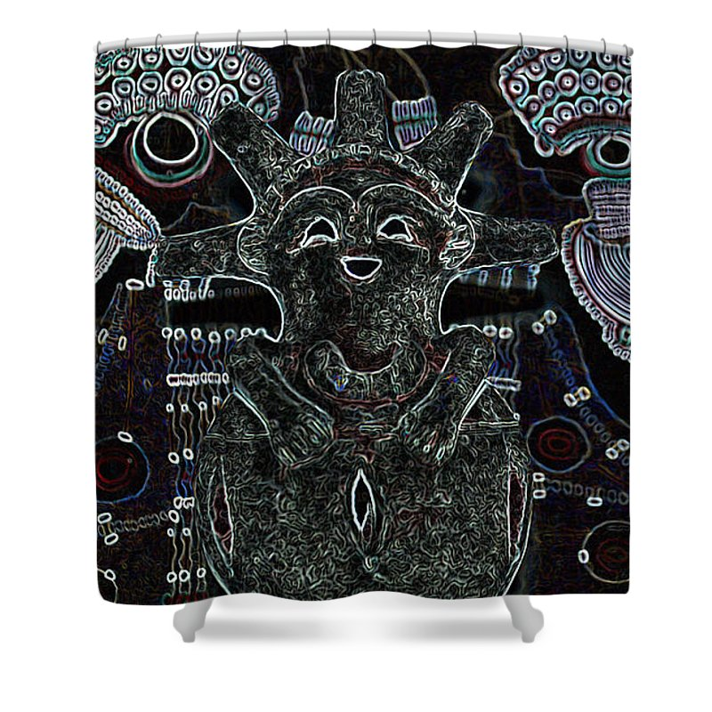 Tribal Shower Curtain featuring the photograph Hopi by Michelle S White
