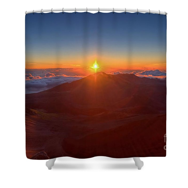 Halakeala Shower Curtain featuring the photograph House Of The Sun by James Anderson