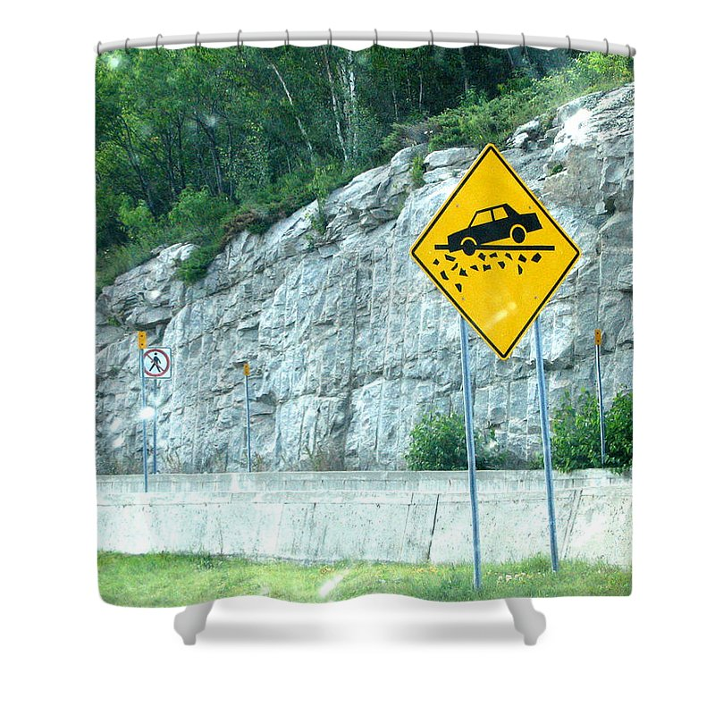 Shower Curtain featuring the photograph Hummm Attention To ...lolllllllllllll by Line Gagne