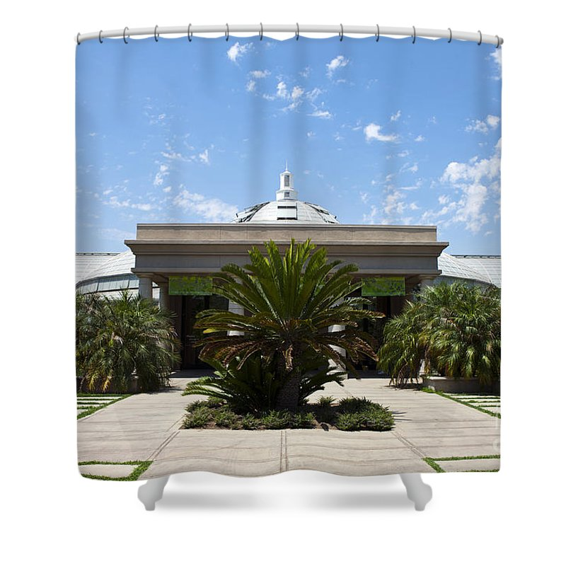 Conservatory Shower Curtain featuring the photograph Huntington Library Conservatory by Jason O Watson