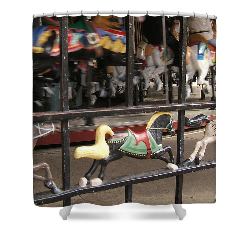 Central Park Shower Curtain featuring the photograph Hurry Hurry by Barbara McDevitt