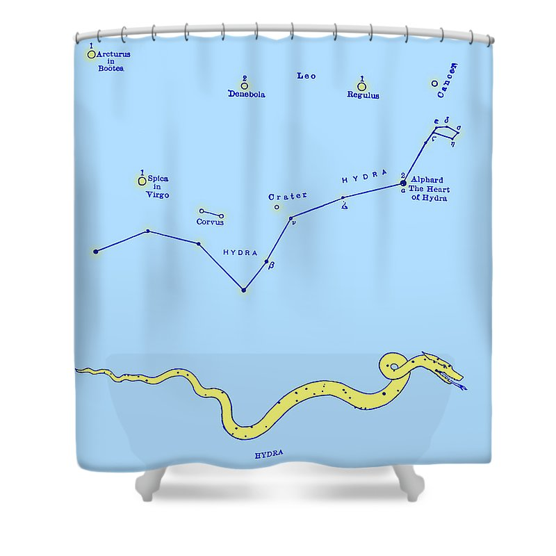 Science Shower Curtain Featuring The Photograph Hydra Constellation By Source