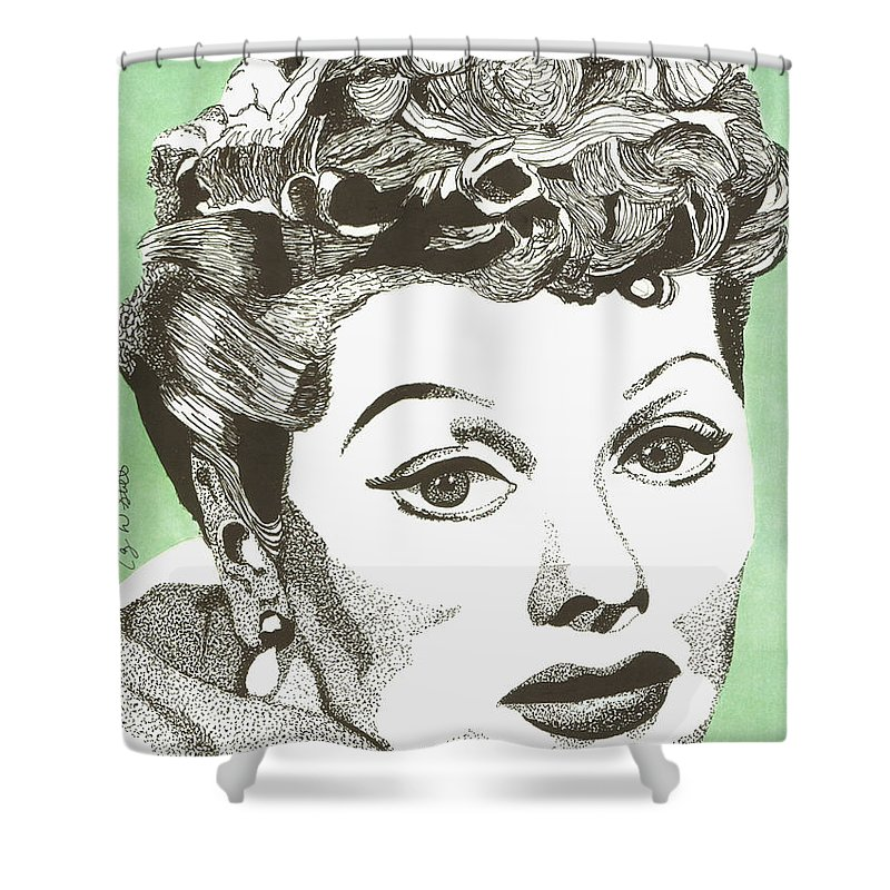 Nosejob I Love Lucy Shower Curtain For Sale By Scott Ashgate