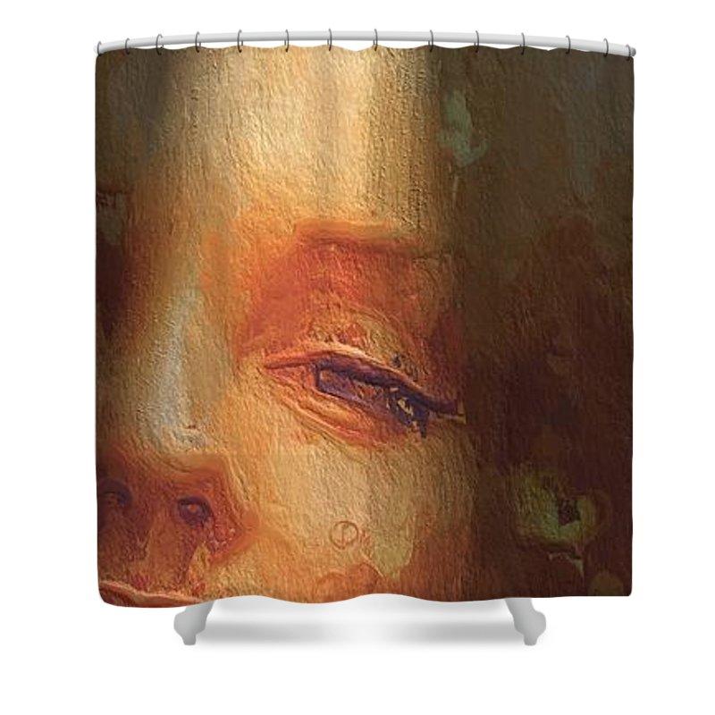 Beauty Spot Shower Curtains