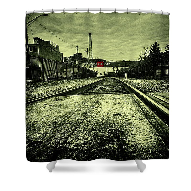 Will Shower Curtain featuring the photograph I Will by Tony Cooper