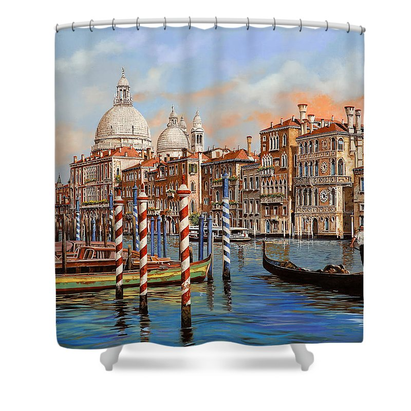 Canals Shower Curtains