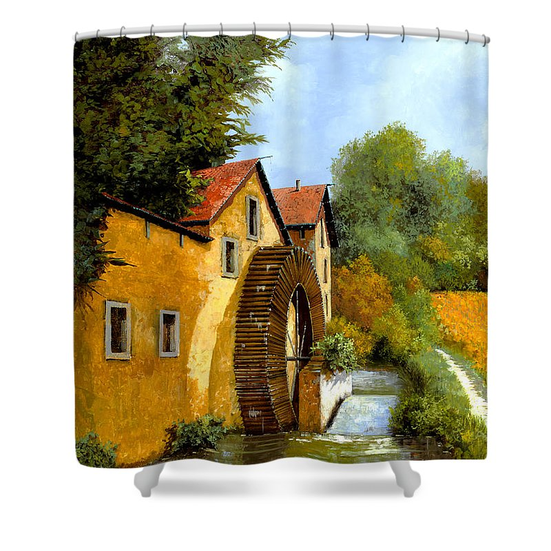 Mill Shower Curtains