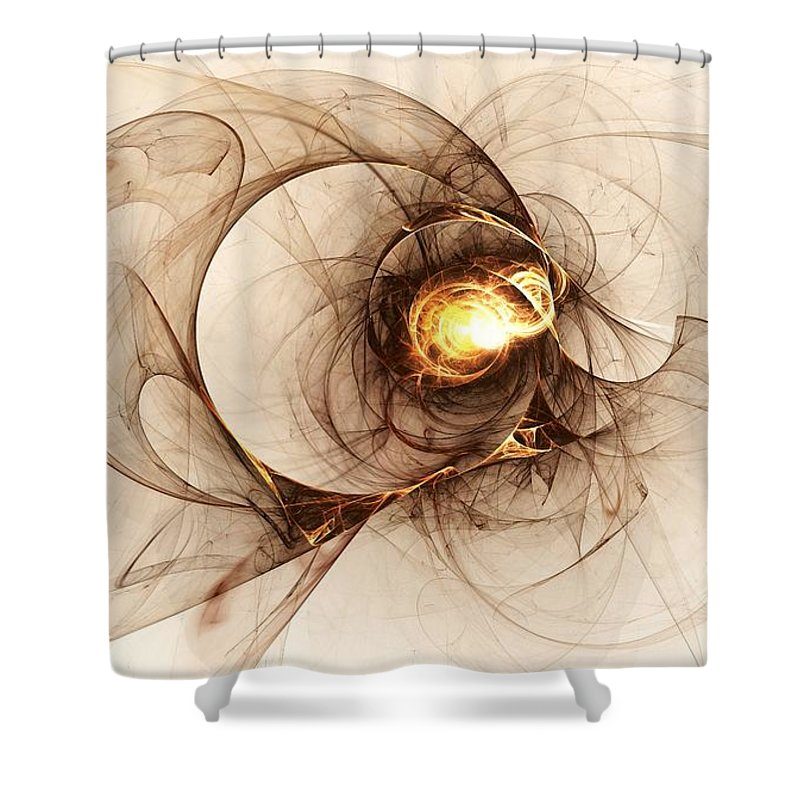 Computer Shower Curtain featuring the digital art Illusion Of Choice by Anastasiya Malakhova