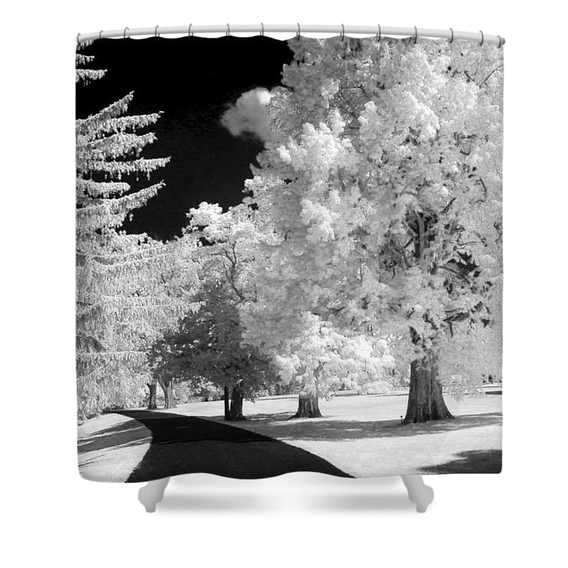 Infrared Shower Curtain featuring the photograph Infrared Delight by Paul W Faust - Impressions of Light
