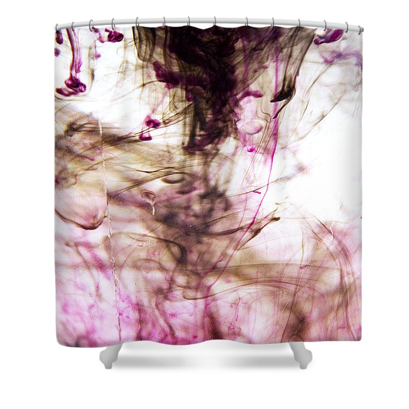 Ink Shower Curtain featuring the photograph Ink Bath 2 by Molly Picklesimer