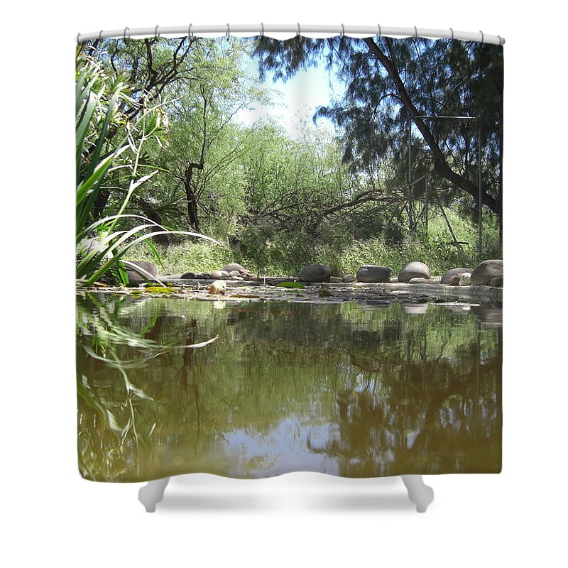 Pond Shower Curtain featuring the photograph Inspiration by John Wilson