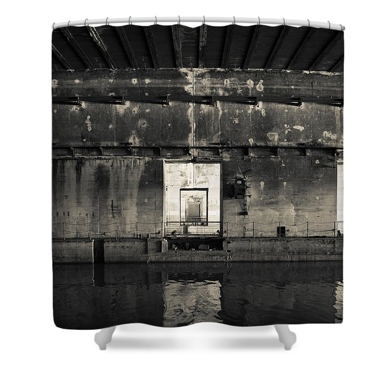 Photography Shower Curtain featuring the photograph Interiors Of World War Two-era Nazi by Panoramic Images