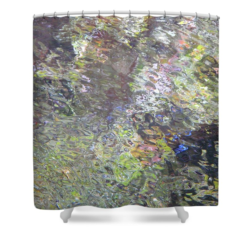 Water Shower Curtain featuring the photograph Iridescence by Donna Blackhall