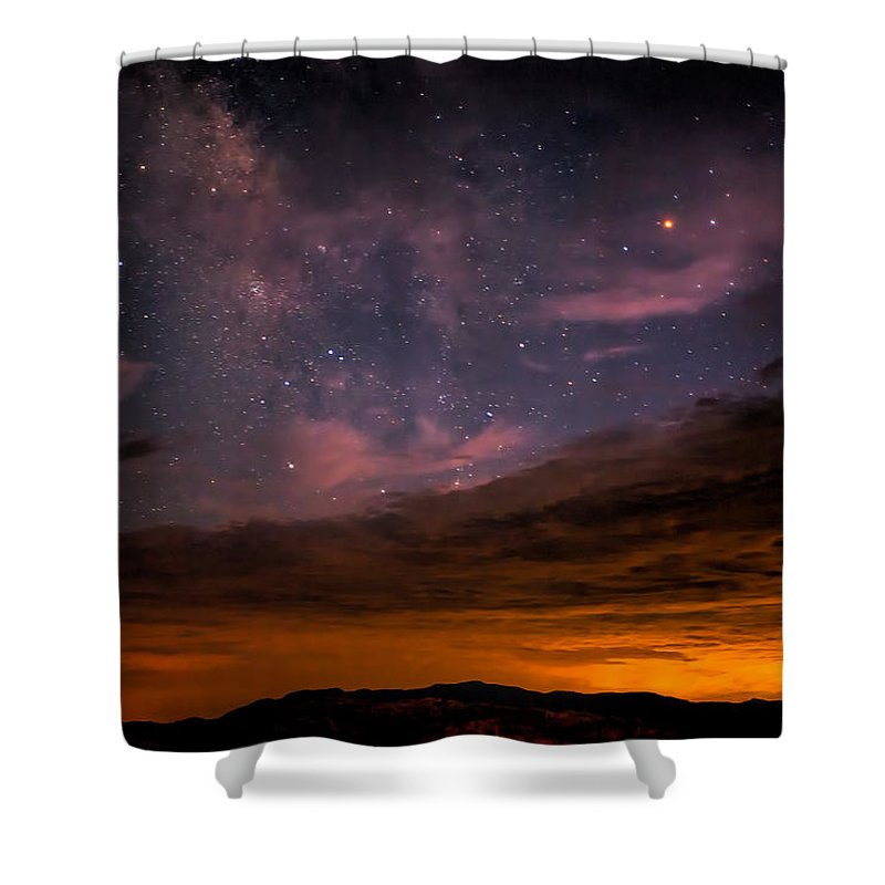 Anza-borrego Desert Shower Curtain featuring the photograph Is This Heaven by Peter Tellone
