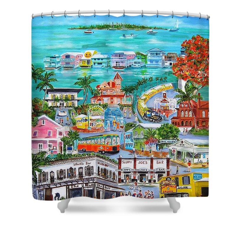Key West Shower Curtains