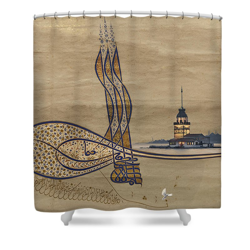 Istanbul Shower Curtain featuring the photograph Istanbul by Ayhan Altun