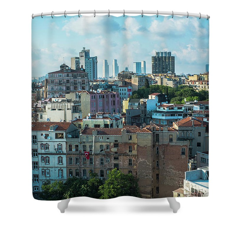 Tranquility Shower Curtain featuring the photograph Istanbul by Picture By Hamoon Nasiri