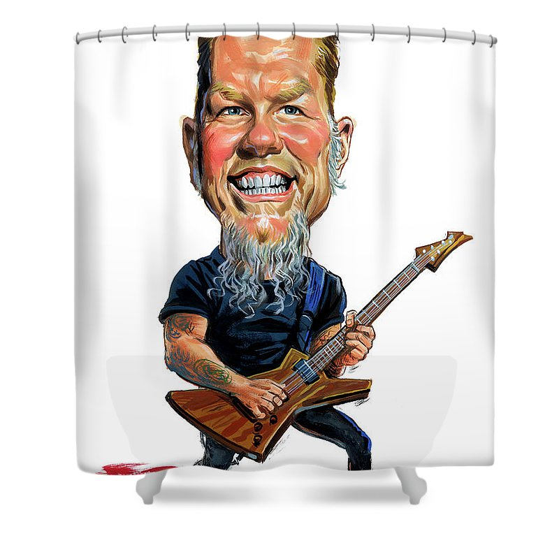 Metallica Shower Curtains