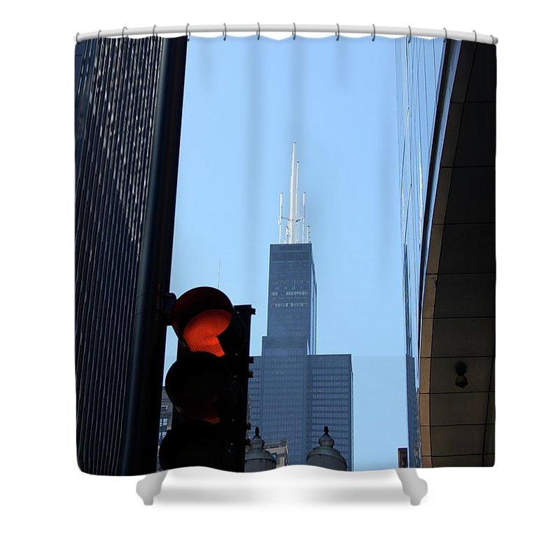 Architecture Shower Curtain featuring the photograph Jammer Architecture 007 by First Star Art