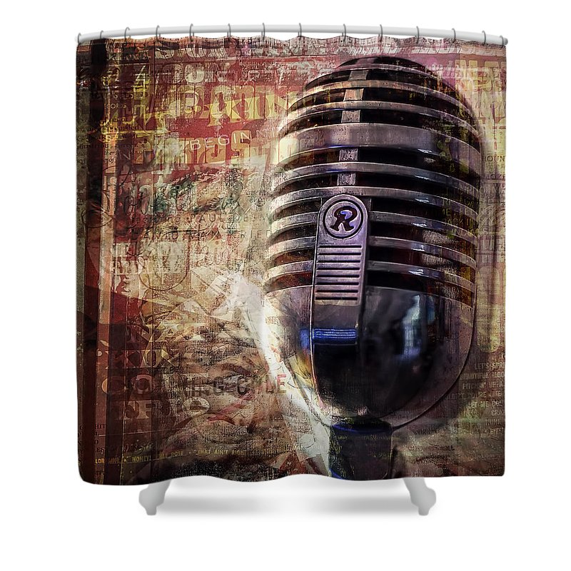 Jazz Shower Curtain featuring the photograph Jazz by Scott Norris