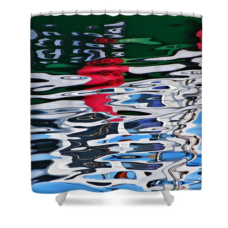 Coastal Shower Curtain featuring the photograph Jbp Reflections 2 by Susie Peek