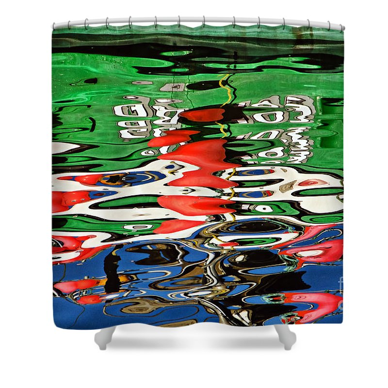 Coastal Shower Curtain featuring the photograph Jbp Reflections 4 by Susie Peek