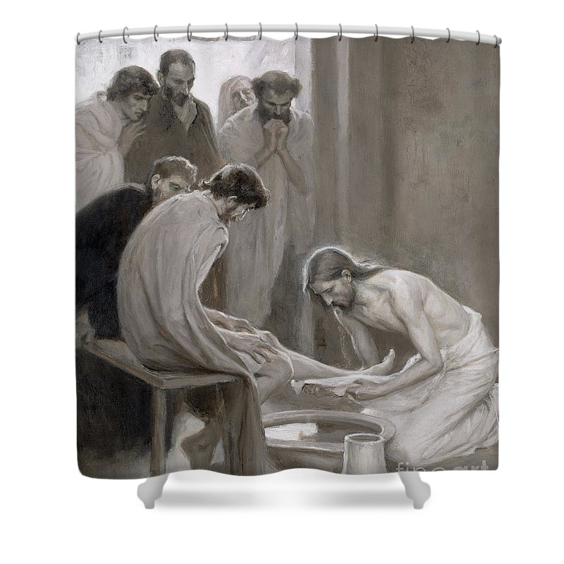 Disciple Shower Curtains