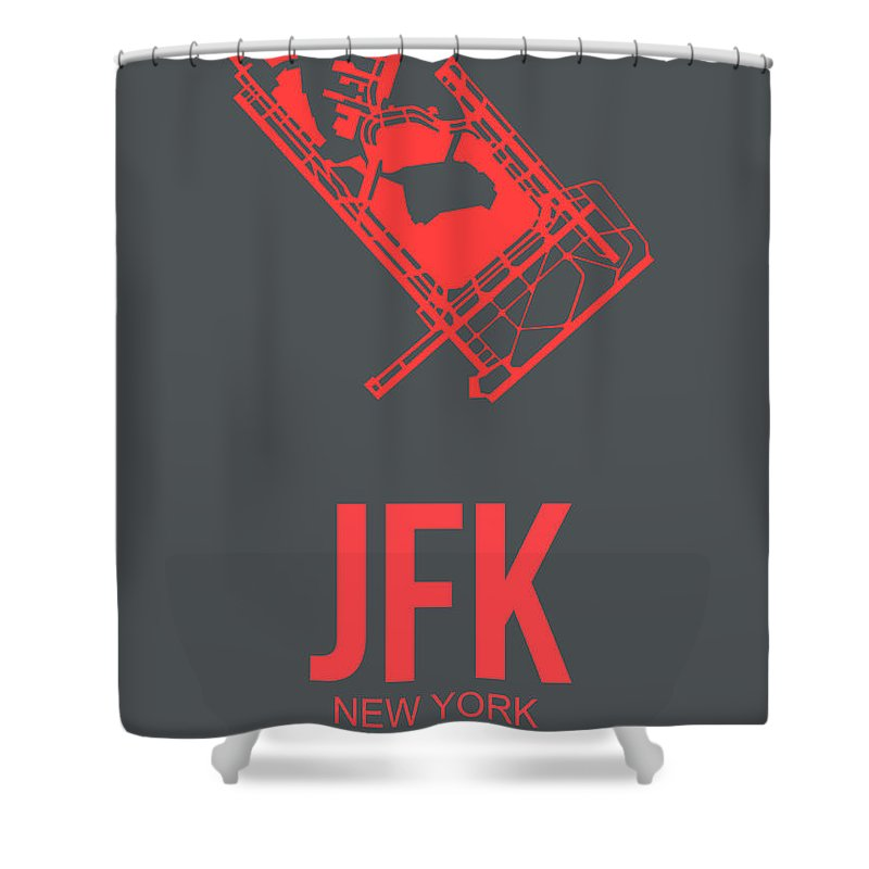 Jfk Airport Shower Curtains