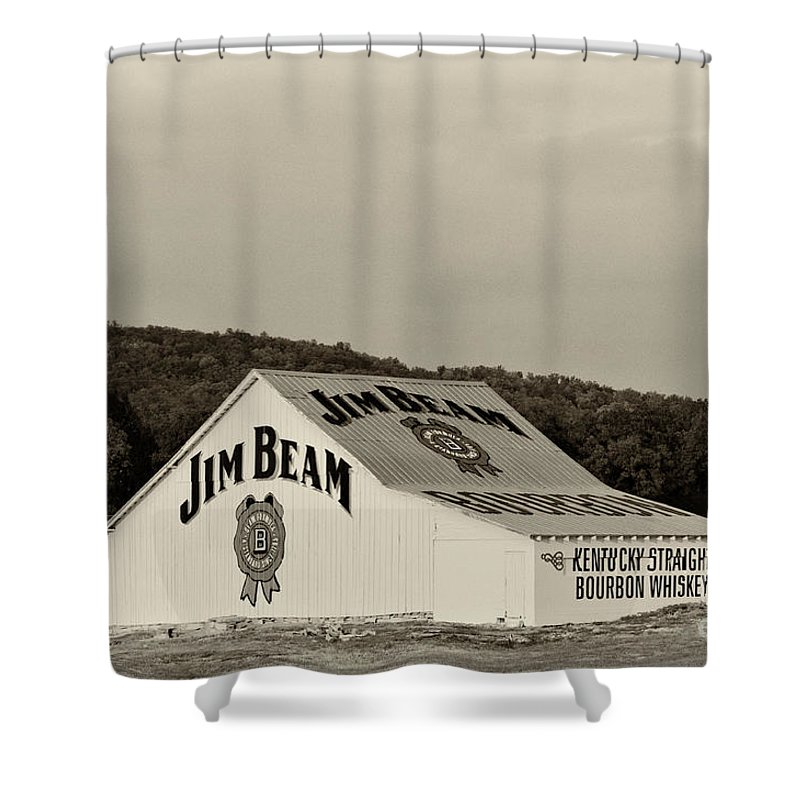 Jim Beam Black Shower Curtains | Fine Art America