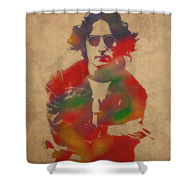 Lennon Shower Curtains