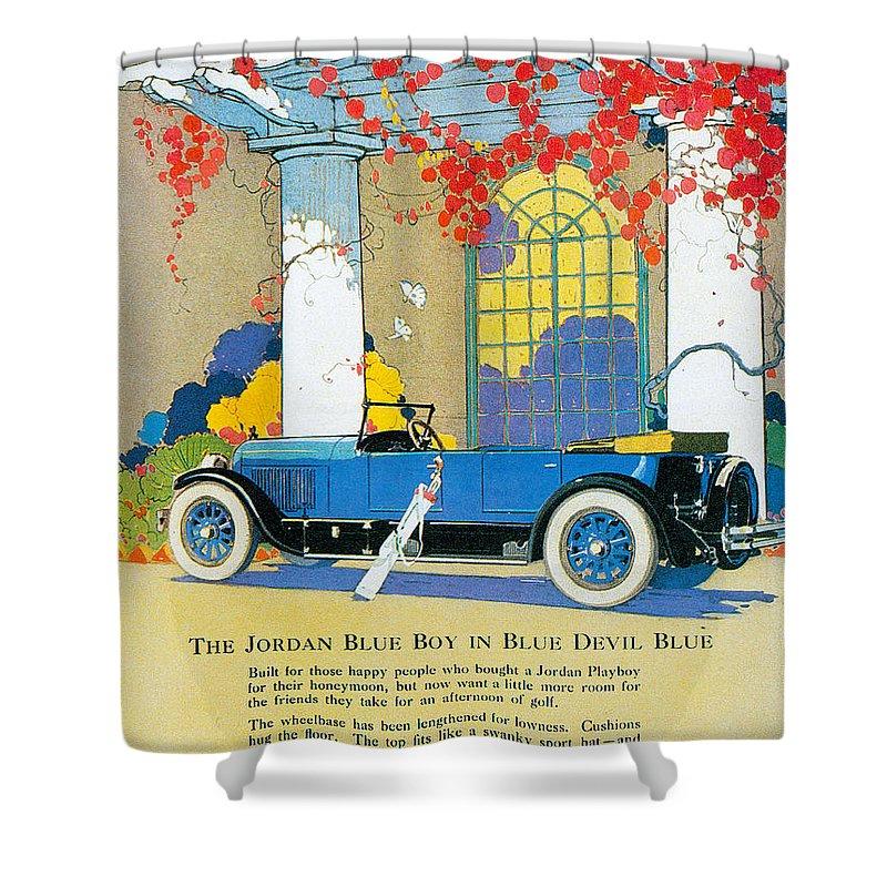 Jordan Motor Car Company Shower Curtain for Sale by Vintage ...