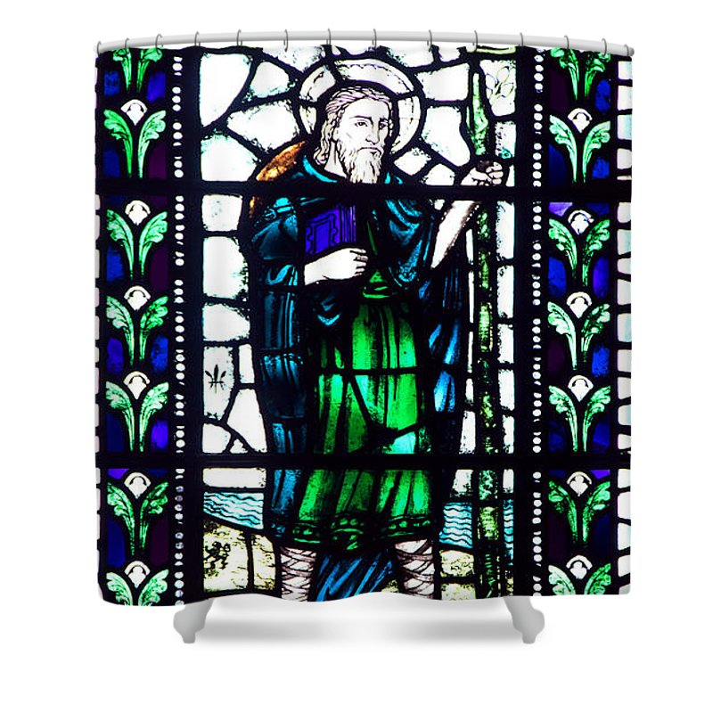 Joseph Of Arimathea Shower Curtain featuring the photograph Joseph Of Arimathea by Roger Wedegis