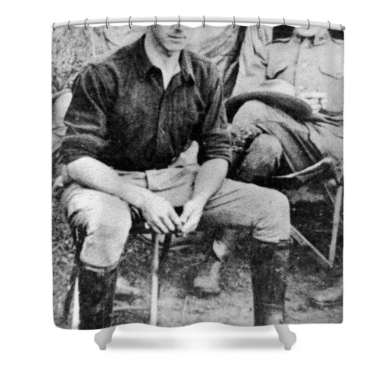 1910 Shower Curtain featuring the photograph Joseph Warren Stilwell by Granger